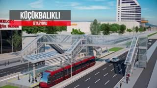 İstanbul Cd. T2 Hattı Animasyon