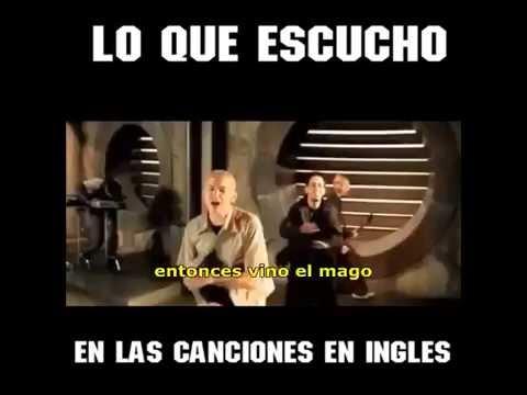 Lo que escucho en las canciones en INGLES!!!