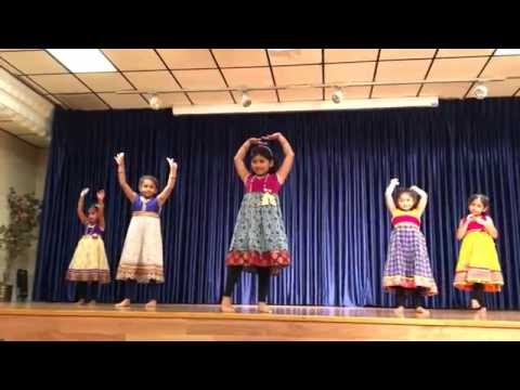 """Little kids Bollywood Dance for """"Cham Cham"""" Song"""