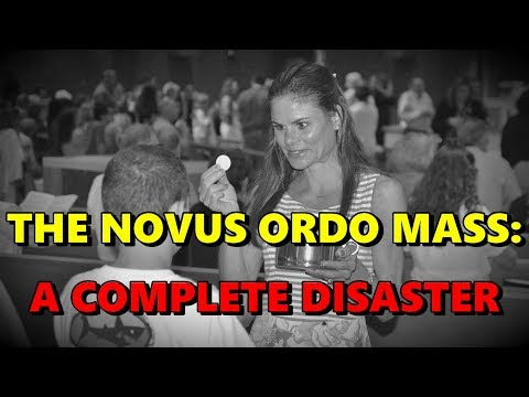 THE NOVUS ORDO MASS: A COMPLETE DISASTER! (3 Minutes with Joe)