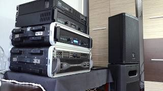 PA system sound test in house (my old system)
