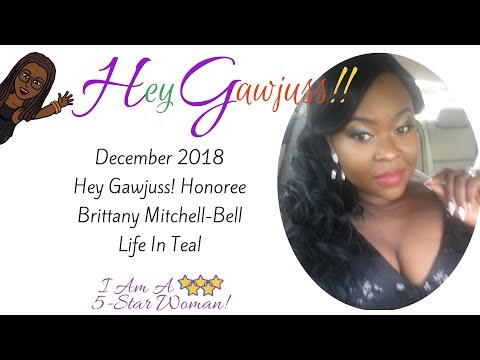 Ep36: Hey Gawjuss! With Brittany Mitchell-Bell