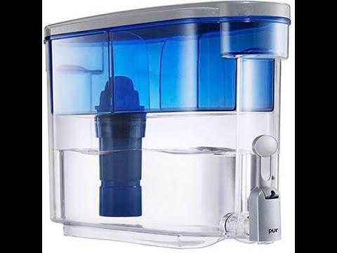 pur 18 cup water filter dispenser ds 1800z youtube. Black Bedroom Furniture Sets. Home Design Ideas