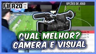 FIFA 20 | CONFIGURAÇÕES DE CÂMERA E SETUP VISUAL DO GAME - MELHOR CÂMERA FIFA 20