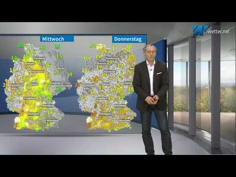 Überschwemmungsgefahr Und Kräftiger Regen Im Süden Und Südwesten Deutschlands (Mod.: Frank Böttcher)