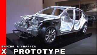 2019 Mazda Skyactiv X Prototype Engine & Chassis