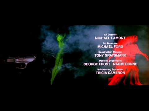 Licence to Kill end of wedding march and credits