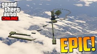 increible salto imposible epico gameplay gta 5 online funny moments carrera gta v ps4