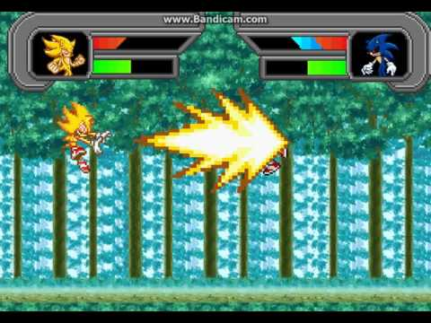 Fleetway Sonic Vs Sonic Exe - 0425