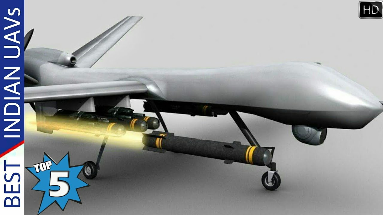 Top 5 Unmanned Aerial Vehicle Used By Indian Armed Forces
