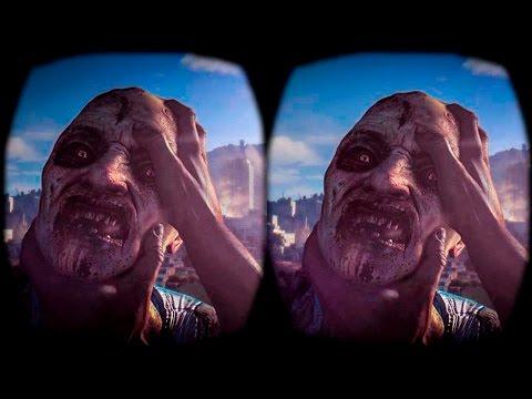 Dying Light in SBS 3D - Google Cardboard - Oculus Rift Pt.3