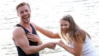 Bindi Irwin and Derek Hough Recreate