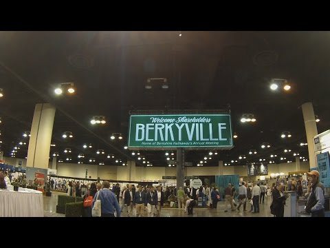 Berkshire Hathaway 2017 Annual Meeting Exhibit Hall- Berkyville