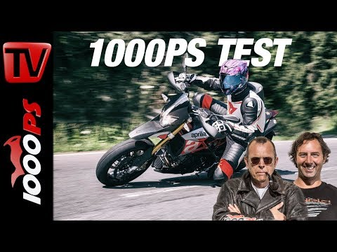 1000PS Test - Aprilia Dorsoduro 900 - Test auf der Landstraße
