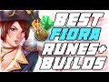 NEW Best Runes + Builds For Fiora Patch 9.6 | Best Fiora's NA | League of Legends
