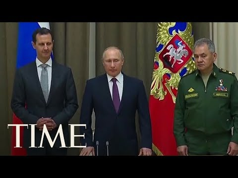 Download Youtube: Putin Says Russia Will End Its Military Operation In Syria After Surprise Talks With Assad   TIME