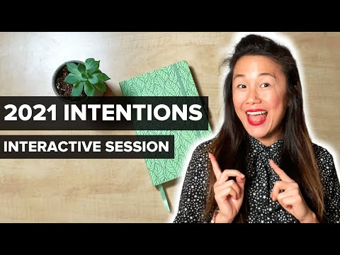 PLAN WITH ME: New Year Intentions 2021 (interactive session)