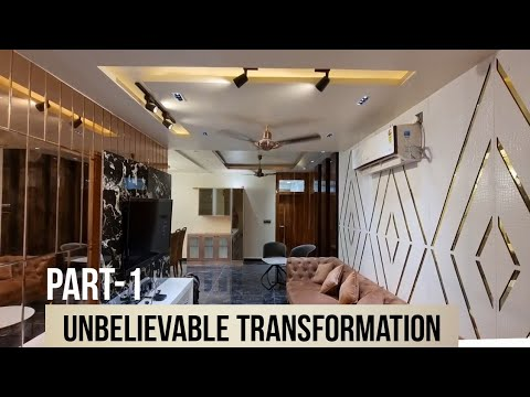 AMAZING TRANSFORMSTION OF AN OLD FLAT TO A LUXURY APPARTMENT | F STUDOS, DLEHI & NCR INTERIOR DESIGN