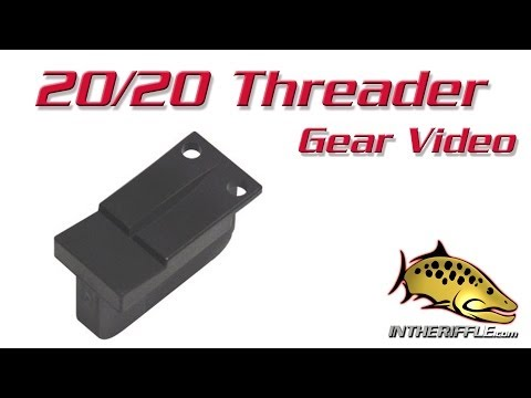 20/20 Magnetic Tippet and Fly Fishing Threader