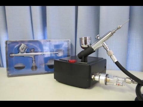 Budget Royalmax 12 volt airbrush compressor review