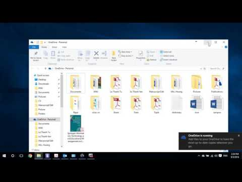OneDrive don't running with the account