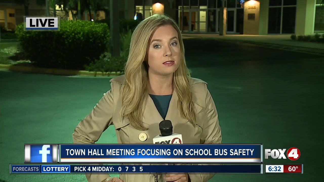 Focus Lee County >> Town Hall Meeting Tuesday Will Focus On School Bus Safety In Lee County