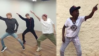 """BTS' #IdolChallenge Inspires Fans ALL OVER to Share Their """"Idol"""" Dance Moves"""
