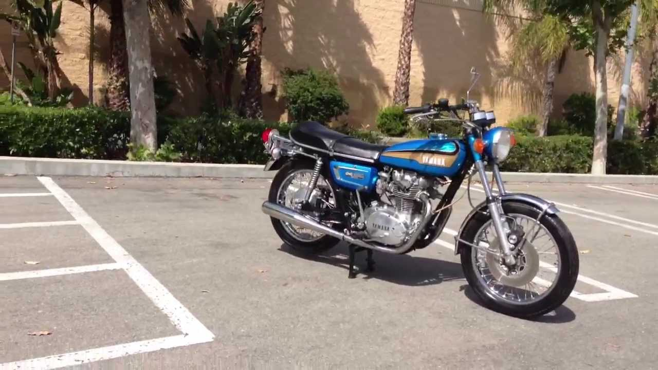 1973 yamaha tx650 for sale fully restored youtube for 1973 yamaha tx650