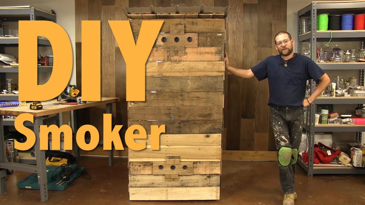 How To Build A Smokehouse With Pallets Full Length Video