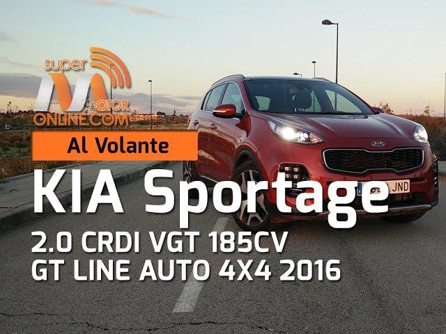 Kia Sportage 2016 / Al volante / Prueba dinámica / Review / Supermotoronline.com