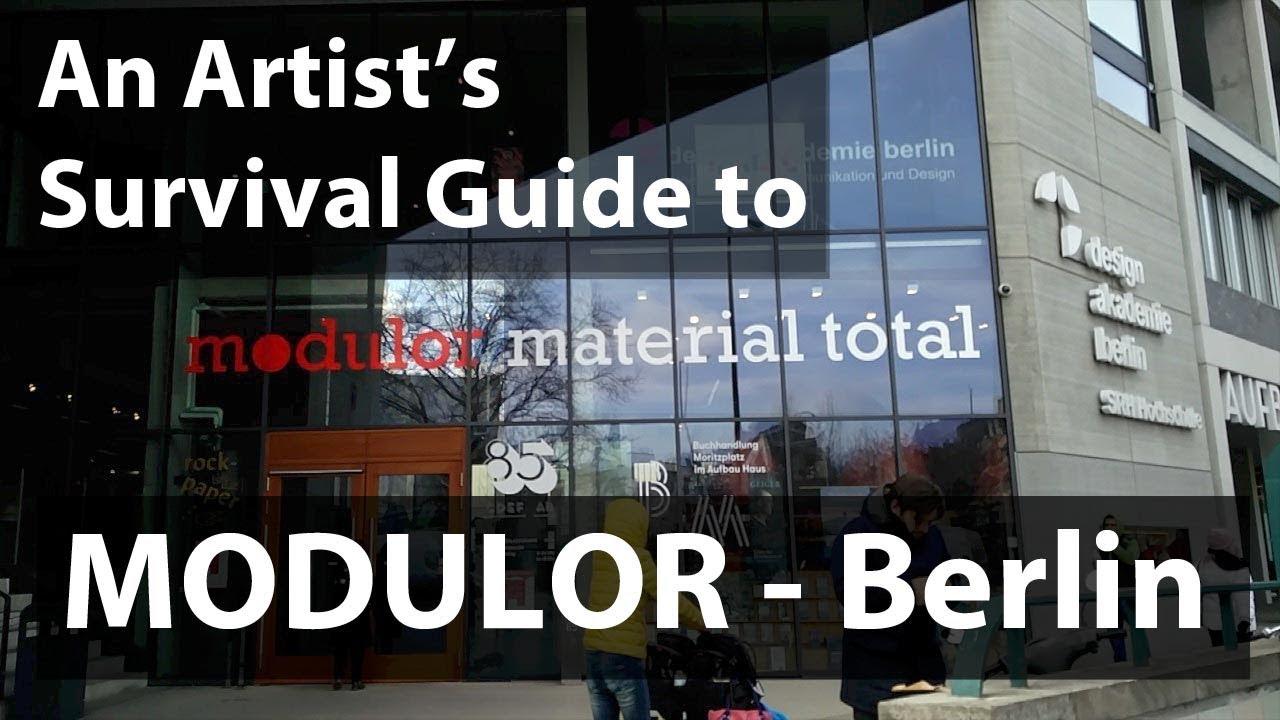 an artist's survival guide to modulor - berlin - art materials