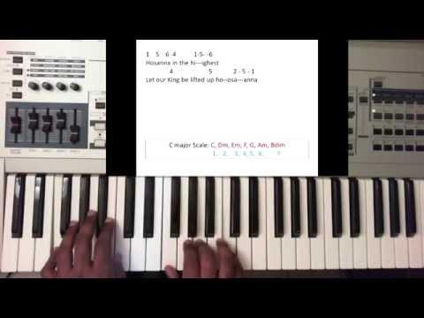 Hossana/Moving Forward/Where Else Can I Go - Israel & New Breed (Piano Tutorial)