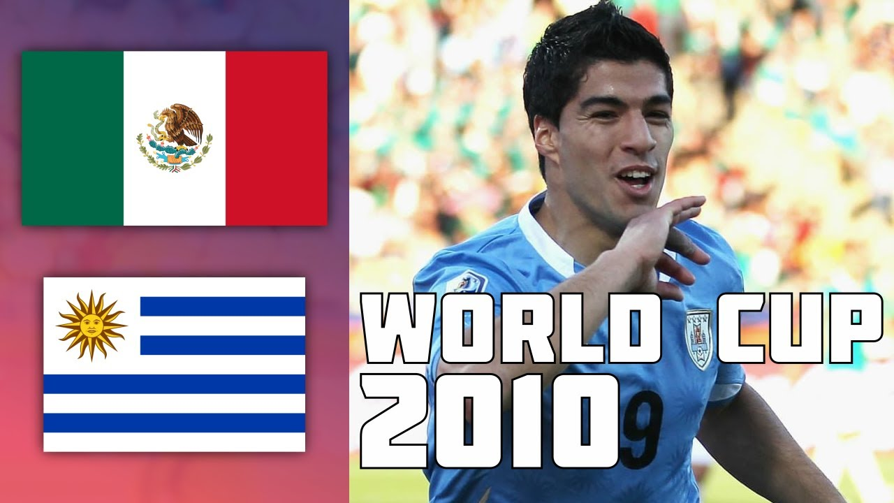 Mexico VS Uruguay 0-1 Goals & Highlights | World Cup 2010
