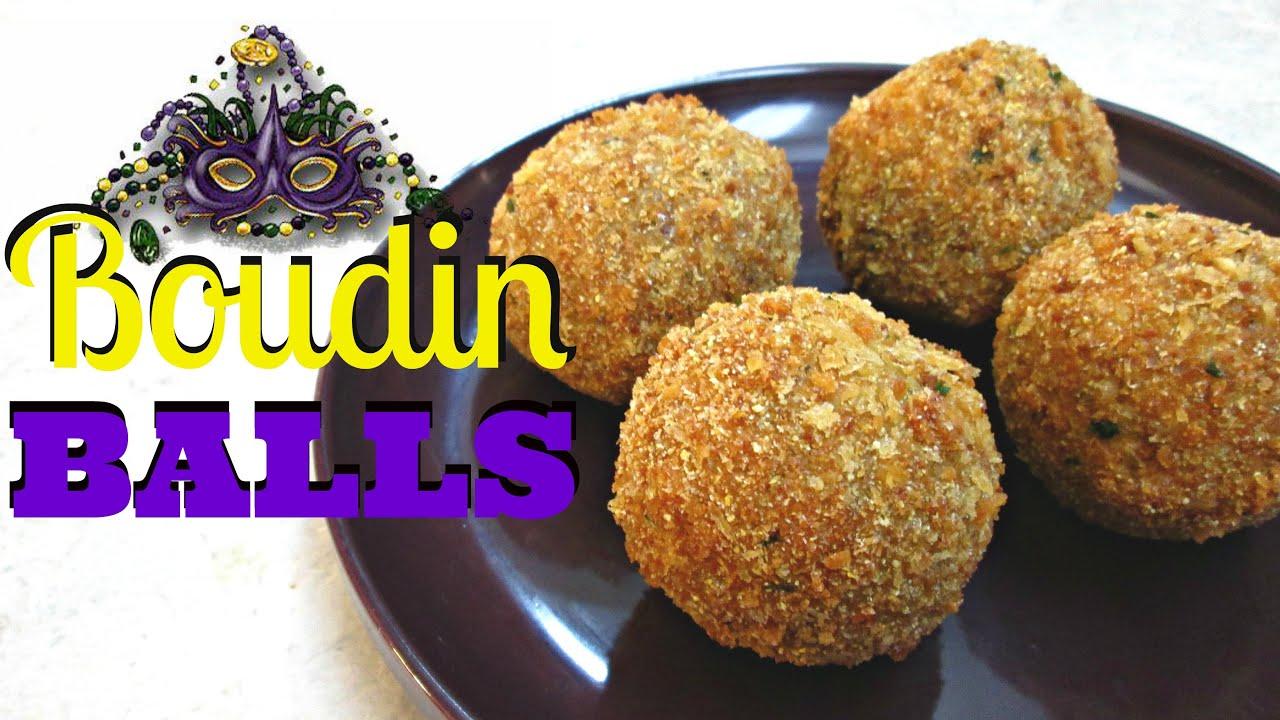 Crispy Fried Boudin Balls - Southern Pork Sausage and Rice ...