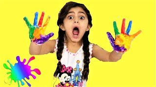 Sally Learns colors and names - Educational video for Children