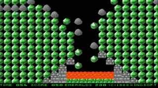 Emerald Mine II AMIGA OCS PLAYED IN AGA 1988Kingsofth DJL