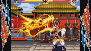 WORLD HEROES 2 JET (ARCADE NEOGEO MVS) 1CC DRAGON「THE FORGING OF WARRIORS MODE」