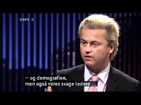 Geert Wilders in Denmark: Deporting millions of Muslims may be necessary - Interview