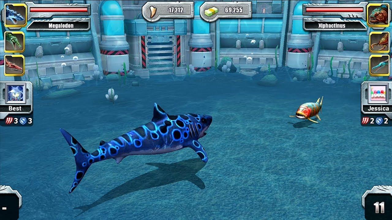 Jurassic Park Builder Aquatic Tournament Android Gameplay ...