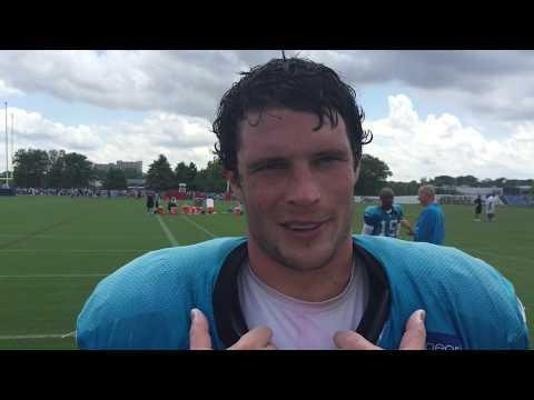 Panthers Luke Kuechly on Titans TE Delanie Walker