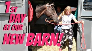 FIRST DAY AT OUR NEW BARN! Day 269 (09/29/18)