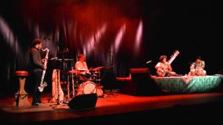 India meets Europe - Indeuropia - Pt. Deobrat Mishra & Friends - Indo Jazz World Fusion Concert