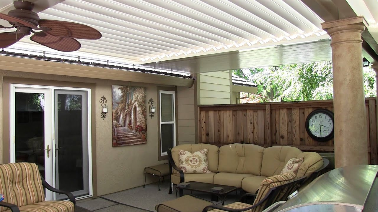 innovative patio cover solution youtube