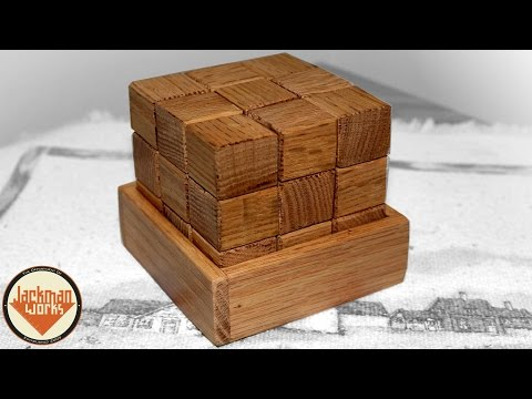 (FREE PLANS) Making a Simple Wood Block Puzzle