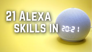 21 Amazon Alexa Skills to Get MORE out of your ECHO!