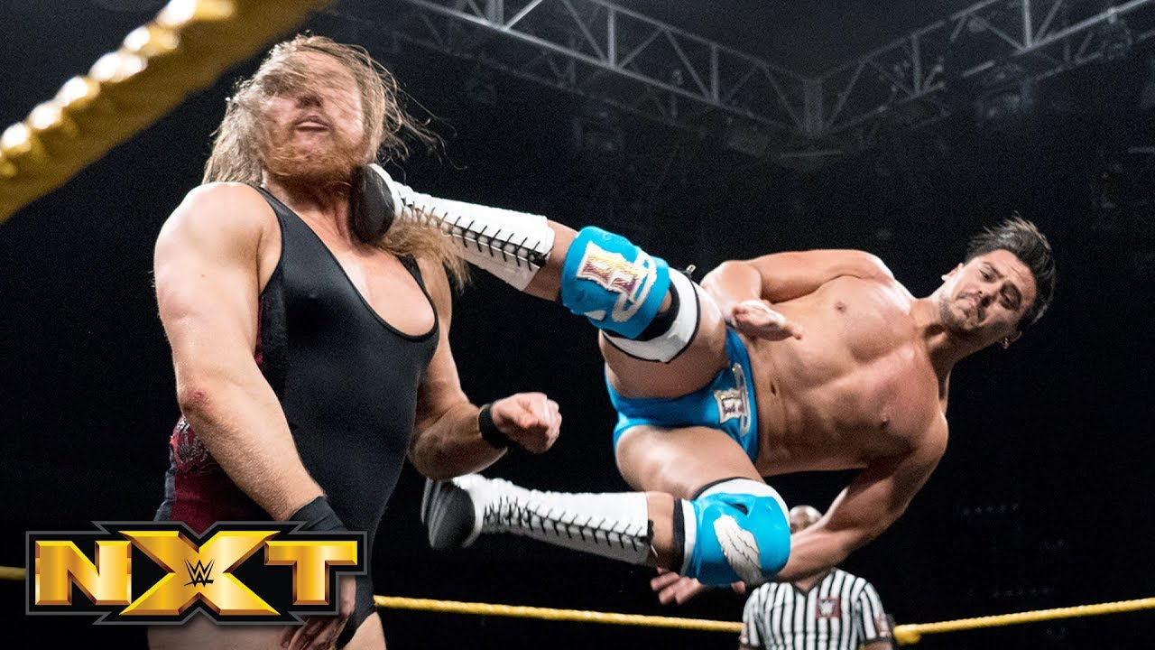 Image result for angel garza pete dunne nxt