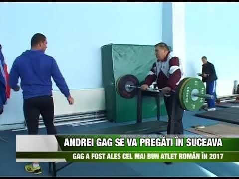 Sport Andrei Gag se va pregăti în Suceava