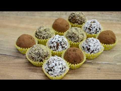 ПП конфеты из сухофруктов за 15 МИНУТ