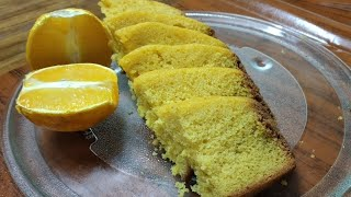 Orange sponge cake recipe|How to make orange cake without oven|soft Orange cake recipe| screenshot 1