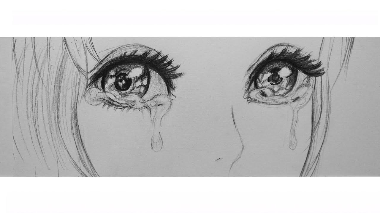 Плачущие девушки аниме 6